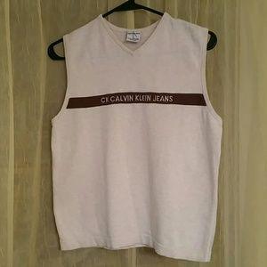 CALVIN KLEIN vintage vest